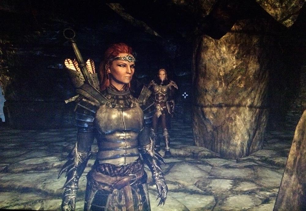 My Skyrim game character Cruela