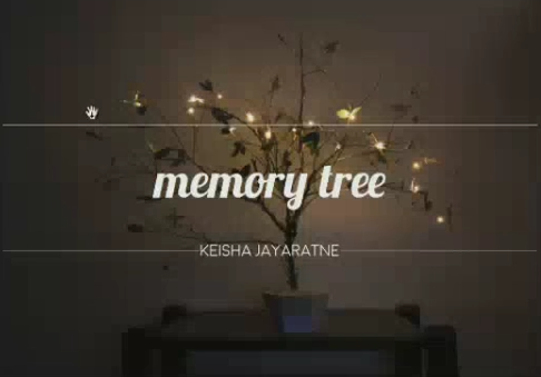 Memory Tree, designed by Keisha Jayaratne (UTS)